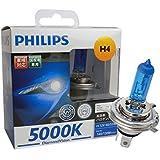 PHILIPS(フィリップス)  ヘッドライト ハロゲン バルブ H4 5000K  12V 60/55W ダイヤモンドヴィジョン DiamondVision  2個入り DV-H4-3