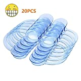 Mouth Openers for Watch Ya Mouth Game,Coopei 20pcs C-Shape BlueTeeth Whitening Intraoral Cheek Lip Retractor Mouth Opener for