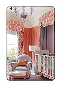Best 1053276I99522832 New Arrival Premium Ipad Mini Case(whimsical Coral Nursery And Purple Canopy)