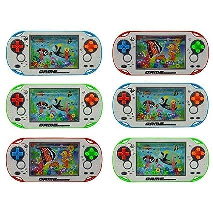 Sshakuntlay Water Ring Kids Game Birthday Return Gift Kids Birthday Gift/Water Ring Game/Water Ring Kids Game/Water Console Game/Water Ring Game Return Gift/Water Ring Game Toys for Kids (Set of 6)