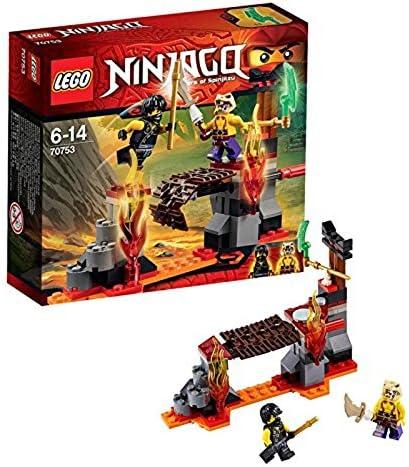 Lego Ninja Go magma bridge 70753