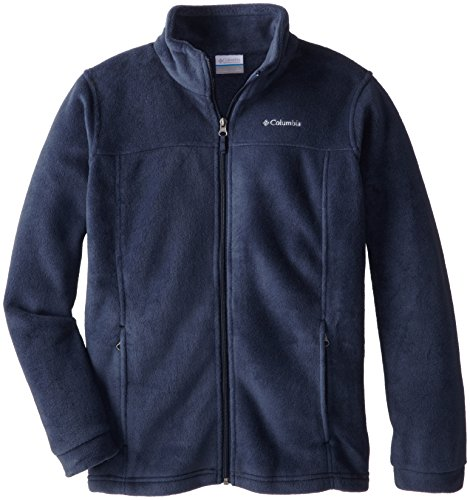 Columbia Youth Boys' Steens Mt II Fleece Jacket, Soft Fleece with Classic Fit , Collegiate Navy , Large (14/16) ()