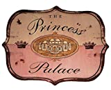 Rustic Door or Wall Sign ''The Princess Palace''