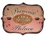 Rustic Door or Wall Sign ''The Princess Palace''
