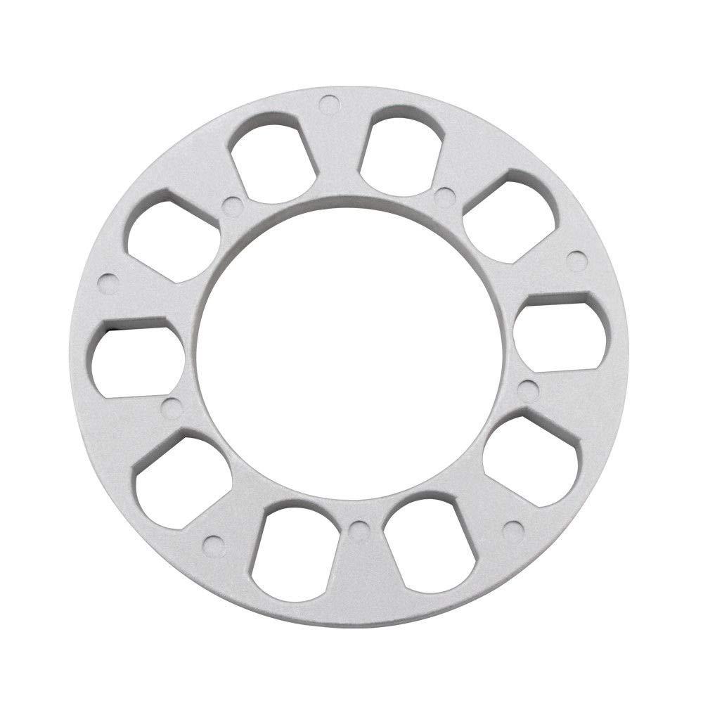 GDSMOTU 4X 8mm 5 Lug Wheel Spacers 5x108, 5x110, 5x114.3, 5x120 Size : 150mm to 82.5mm