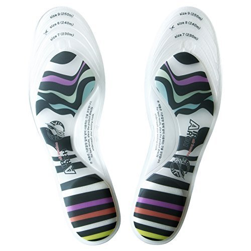 Air Arch Insoles  Walking Zebra for Women Arch Support  Orthotics Inserts Foot Pain Shock Absorption