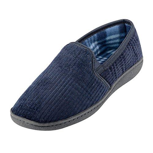 EGO - Zapatillas de estar por casa para hombre Azul - azul marino