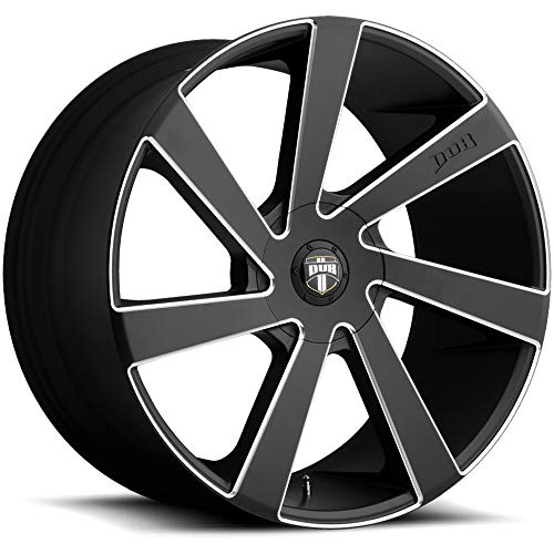 DUB Directa 24 Black Wheel / Rim 5x150 with a 35mm Offset and a 110.3 Hub Bore. Partnumber - Rims Dub