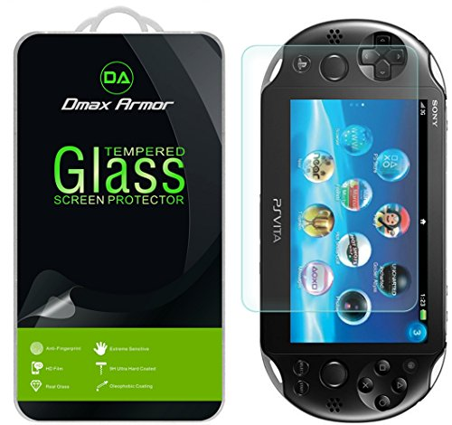 [2-Pack] Dmax Armor for Sony Playstation Vita 1000 [Tempered Glass] Screen Protector
