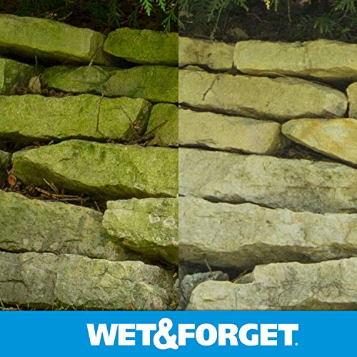 Wet & Forget Outdoor Ready To Use Moss, Mold, Mildew & Algae Stain Remover, 64 OZ. - 804064 by WET & FORGET (Image #8)
