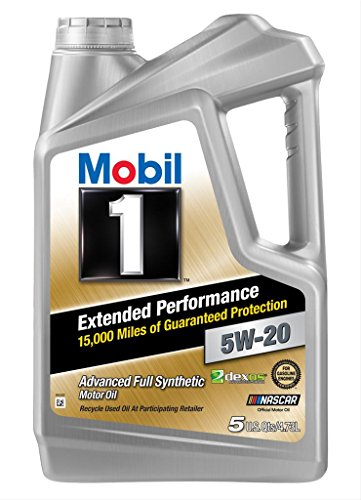 Mobil 1 120765 Extended Performance 5W-20 Motor Oil - 5 Quart