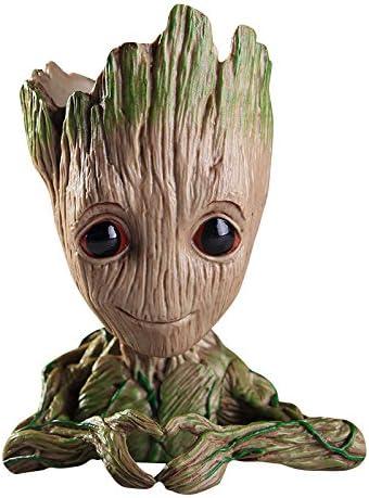 Sono Groot Action Figure per Piante e Penne del Film Classico Perfetto Come Regalo thematys/® Baby Groot Vaso di Fiori A