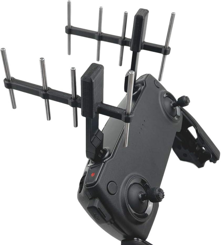 Mando a distancia Antena Booster Range, Mavic Mini Yagi Antena Amplificador, Extensor para Drone Mavic Mini/Mavic 2 Pro/Zoom/PRO Accesorios, 2.4 GHZ y ...