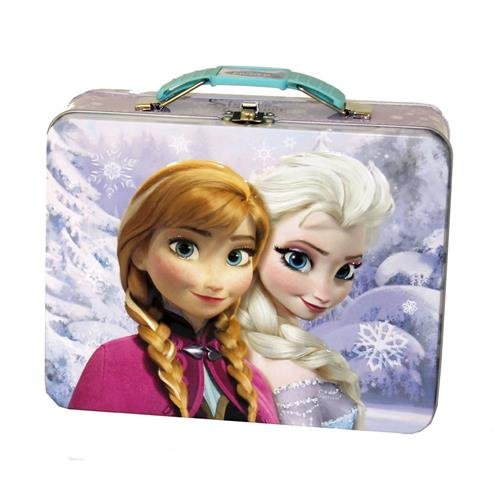 Disney Frozen 3D Design Embossed - Metal Tin Lunchbox