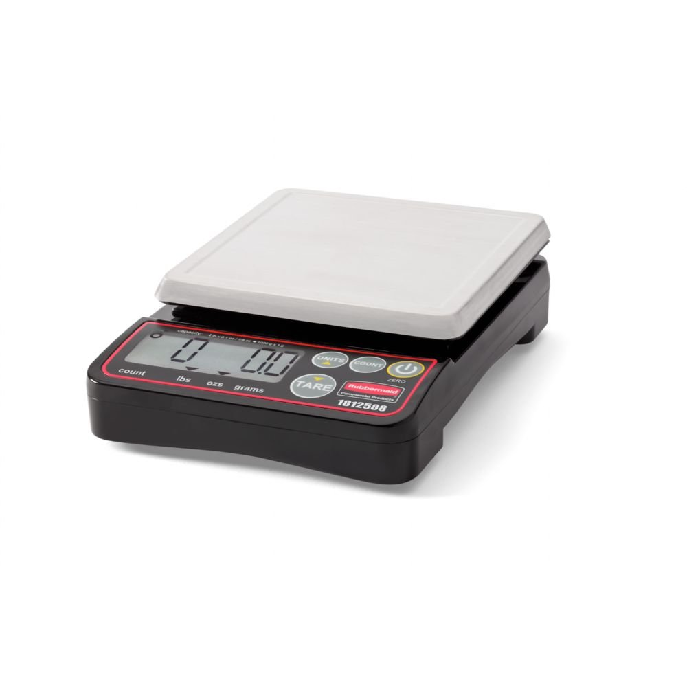 Rubbermaid Commercial Products 1812588 Digital Food Scale
