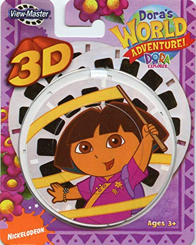 (Fisher Price Dora's World Adventure Viewmaster 3D Reels)