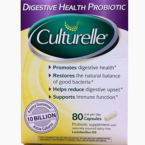 Culturelle Digestive Health Probiotic, 240 Capsules ,Culturelle-ej by Culturelle
