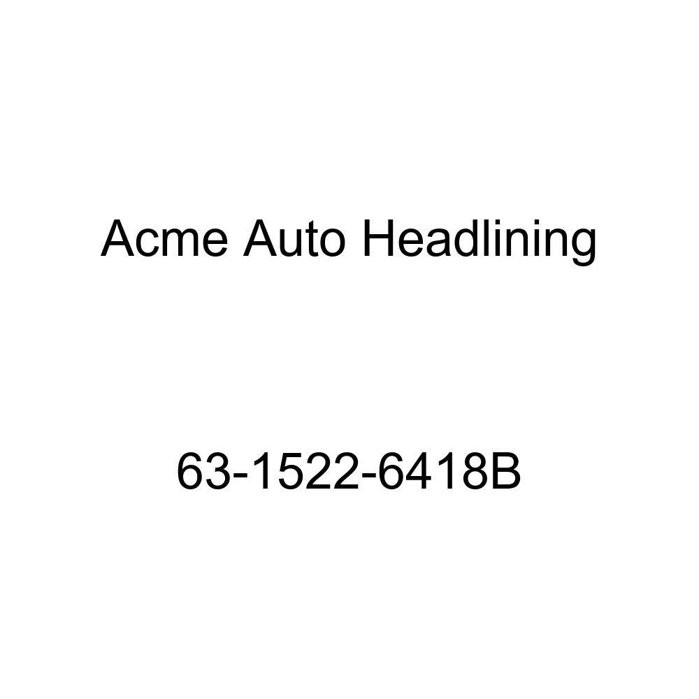 Pontiac Tempest 2 Door Club Coupe 5 Bow Acme Auto Headlining 63-1522-6418B White Replacement Headliner