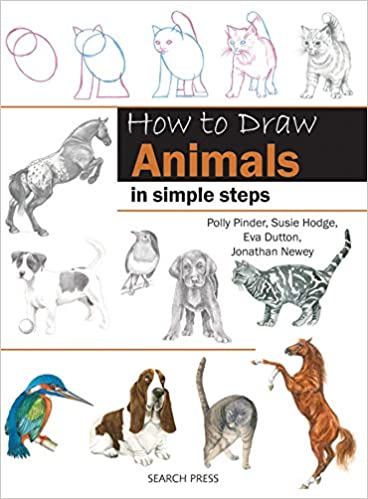 how to draw animals in simple steps eva dutton polly pinder