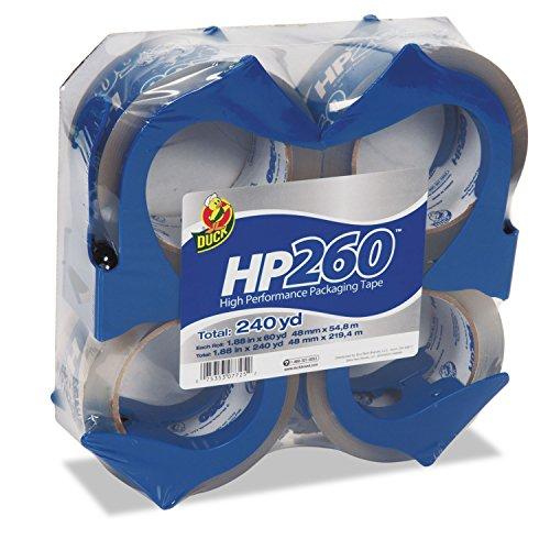 - Duck 0007725 HP260 Packaging Tape w/Dispenser, 1.88