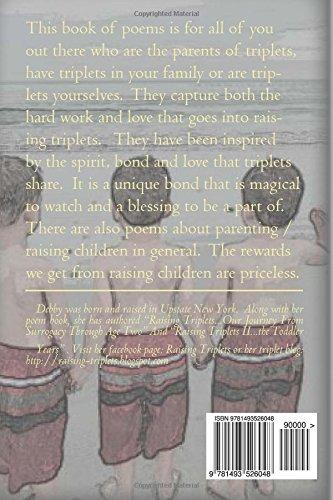 Triplet Poems: Debby Bedell: 9781493526048: Amazon com: Books