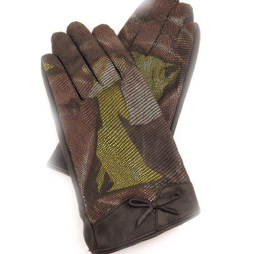 [リリーの宝 (Les Tresors De Lily)] (Scarlett コレクション) [K7602] 手袋 ブラウン