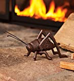 Cast Iron Hearth Cricket With Burnished Copper Finish