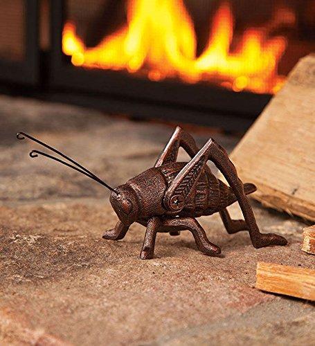 Plow & Hearth 36135 Cast Iron Hearth Cricket Coppe, 6-1/2L x 2-1/2H, Burnished Copper (Good Hearth)