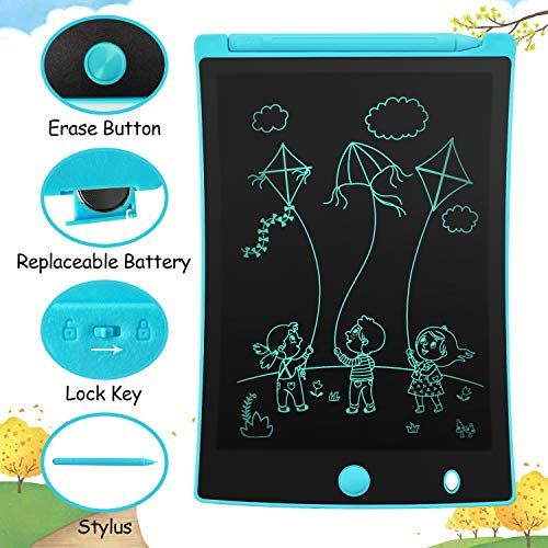 Orsen LCD Writing Tablet, Toys for 3-6 Year Old Boys, 8.5-inch Doodle Board Drawing Tablet, Kids Gifts Toys for 3 4 5 6 7 Year Old Boys(Light Blue)