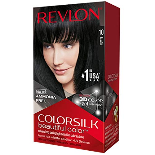Colorsilk By Revlon, Ammonia-Free Permanent Haircolor Black #1N - 1 Ea ( Pack of 12 )