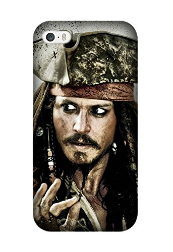 [Iphone 6/6S - Utral Slim Black Hard Case for Iphone 6/6S Pirates Of The Caribbean Movie Shock-Proof Protective Case Design By [Alex] (Pirate Cost)
