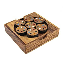 Brain Games Matching Wheels Puzzle