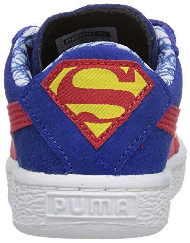 Puma Kids Suede Superman V Inf Sneaker Limoges/High Risk Re