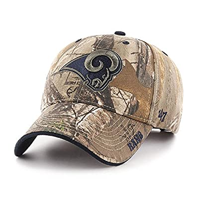 Los Angeles Rams NFL 47 Brand Realtree Frost Camo Hat Cap Adult Men's Adjustable from 47