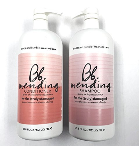 Bumble and Bumble Mending Shampoo 33oz and Mending Conditioner 33 Oz Liter Duo by Bumble and Bumble