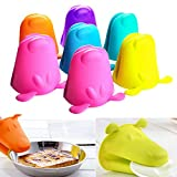 manicure oven - AMAZZANG-Dog Silicone Heat-Resistant Kitchen Oven Baking Tool Glove Pot Mitt Holder Tools