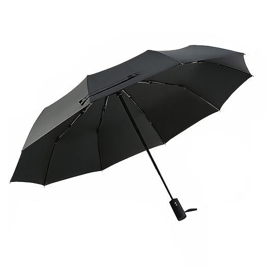136 opinioni per Ombrello Automatico, POOPHUNS Ombrello Pieghevole, 10 stecche rinforzate, con
