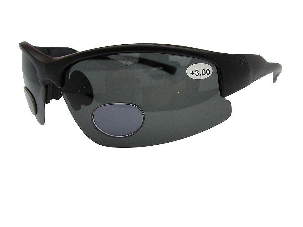 Lotus - Gafas de sol bifocales polarizadas Deportes Wrap ...