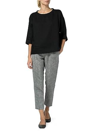 c91be4d3cfa Vivid Linen Scoop Neck Top at Amazon Women s Clothing store