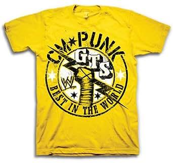 WWE CM Punk Authentic Mens Tee (XX-Large)