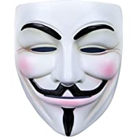 IDOXE V for Vendetta Purge Mask Halloween Masquerade Masks Fancy Cool Costume Cosplay Party Decorations Accessory
