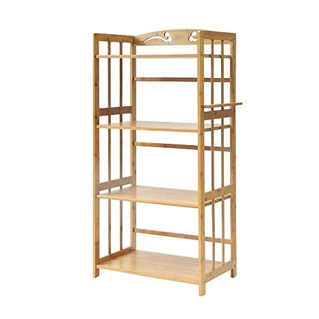 Küchenregal Shelf - Estantería para microondas (bambú y ...