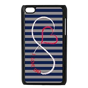 SpecialCasedesign Personalized Father's Day I Love My Dad Infinity Ipod Touch 4 Case Best Durable Back Cover by icecream design