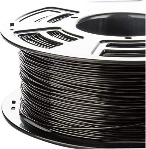 3D Printer Filament - Black 1.75 mm PLA Filament, Dimensional Accuracy +/- 0.02 mm Low Odor 3D Printing Filament, 2.2 lbs Spool 1.75 mm Filament PLA 3D Filament for Most 3D Printer & 3D Pen
