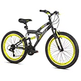 Boys 24 inch Avigo Air Flex Dual Suspension Bike