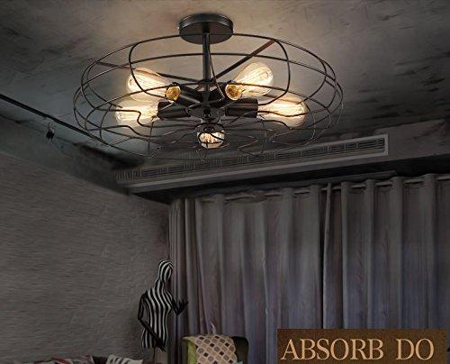 Moda faretti da soffitto wxp stile country americano lampada di