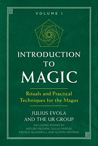 Book cover from Introduction to Magic: Rituals and Practical Techniques for the Magus by Julius Evola