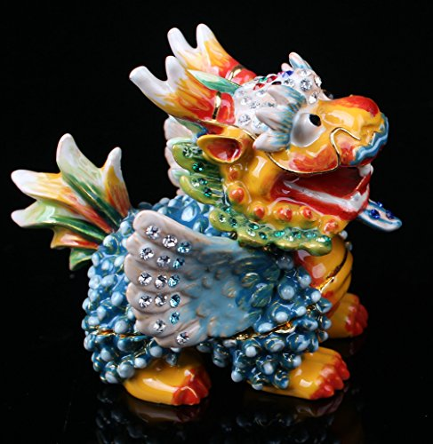 (Dragon Fantasy Statue Figurine Magic Figure Chinese Dragon Table Statue)