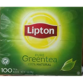 Lipton Green Tea 64 All natural green tea is made from the finest leaves from around the world LIPTON Tea is 100% natural. No additives, preservatives or colorings 165mg Tea Flavonoids per 8 fl oz serving