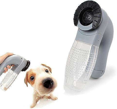 UTOPIAY Removedor de Pelo para Mascotas/removedor de Piel para Mascotas Perro eléctrico Gato Que arroja la Herramienta Peine Aspirador: Amazon.es: Hogar